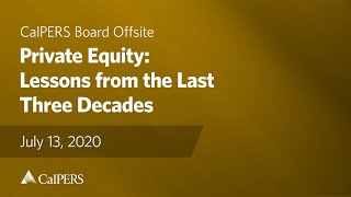Private Equity: Lessons from the Last Three Decades | July 13, 2020