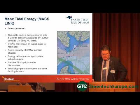 Offshore Renewables and Ecoisland Opportunities on the Isle of Man -Part 3