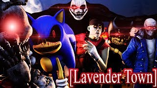 [SFM | FNAF, Sonic, TF2, Undertale, Bendy] Lavender Town Remix (NTCS Episode 2)