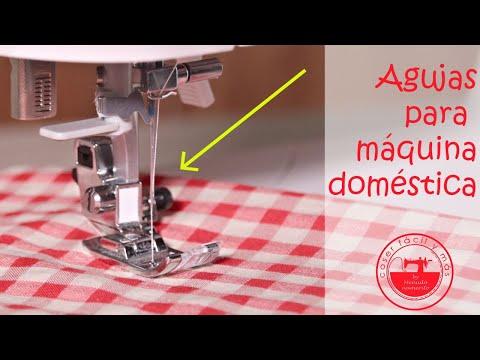 Tipos de agujas para máquinas de coser doméstica