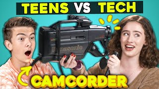 Teens Try Using a 90s Camcorder | Technical Difficulties (New Show)