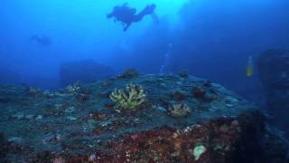preview picture of video 'Return to Mokuhooniki, Scuba Diving Molokai - December, 2010'