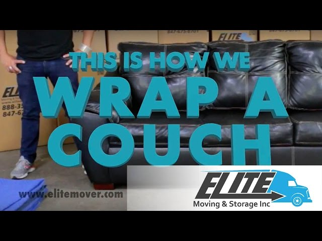 How To Wrap a Couch When You Are Moving