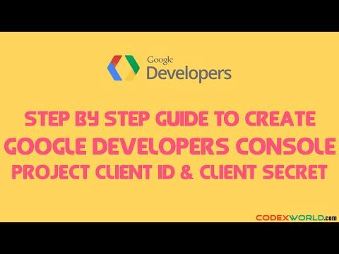 mp4 Developer Google Console, download Developer Google Console video klip Developer Google Console
