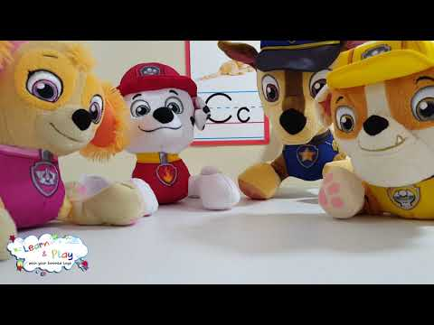 Learn the Letter C with the Paw Patrol EARLY CHILDHOOD EDUCATION, Education