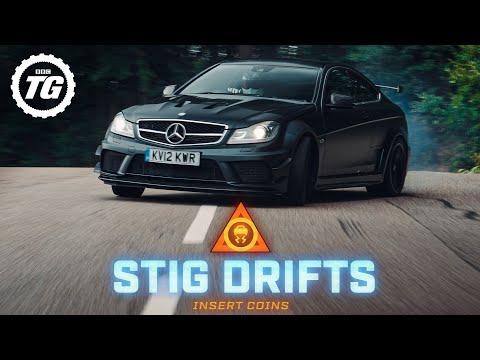 STIG DRIFTS: Mercedes-AMG C63 Black Series | Top Gear