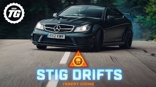 [Top Gear] STIG DRIFTS: Mercedes-AMG C63 Black Series