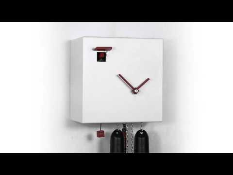 Kuckucksuhr modern   Cuckoo Clock modern    #50561