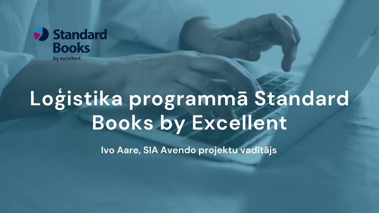 Loģistika programmā Standard Books by Excellent