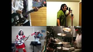 [HD]Satsuriku no Tenshi OP [Vital] Band cover
