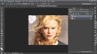Быстрое отделение волос от фона изображения