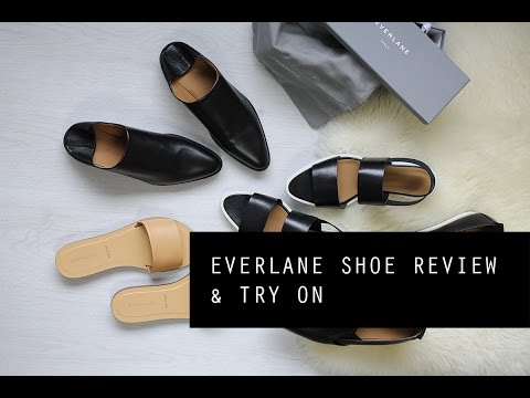 Everlane #ElevateSummer Shoe Review & Try On | Mademoiselle