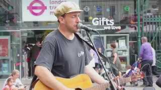 Gary Jules - Mad World (cover) London Street Music
