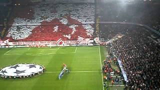 preview picture of video 'Bayern Monaco - Napoli (SETTORE OSPITI) Inno Champions League'