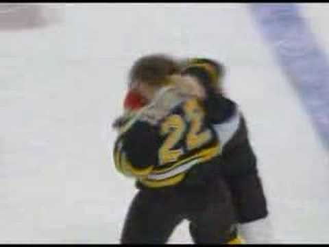 Riley Cote vs Shawn Thornton