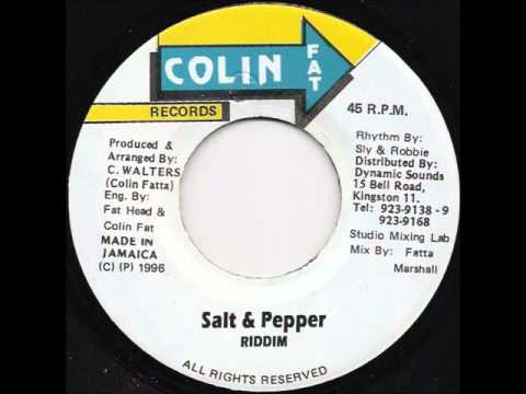 Salt and Pepper Riddim 1996 (Colin Fatta Selection) Mix By Djeasy