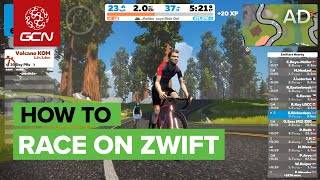 How To Race On Zwift   GCN's Guide To Zwift Racing