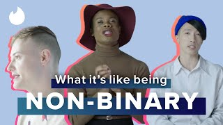 """5 Non-Binary People Explain What """"Non-Binary"""" Means To Them   Tinder"""