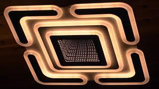 Видео о 044/520 - CV WH+BK (166W) люстра