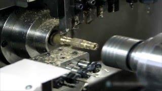 Swiss Type CNC Lathe Machine – Machining Parts
