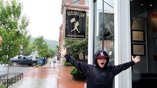 We Arrive in Cooperstown