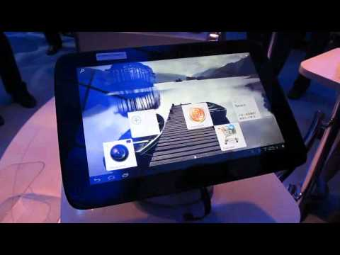 Intel Medfield tablet reference design with Android 4.0