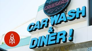 This Car Wash Serves the Best Filipino Food