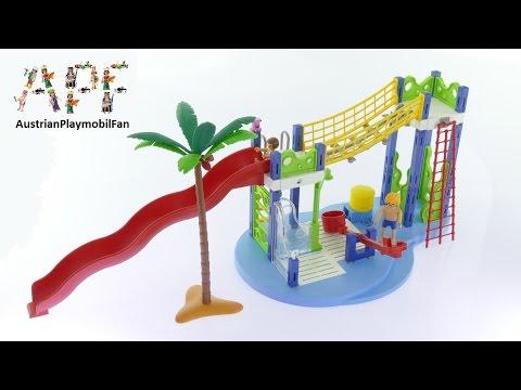 Vidéo PLAYMOBIL Summer Fun 6670 : Aire de jeux aquatique