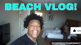 CRAZY BEACH VACATION VLOG! SUMMER 2020 (I ALMOST DIED)