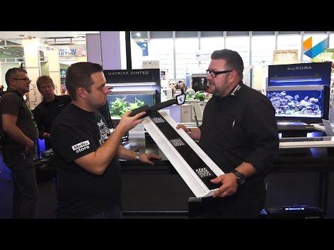 Giesemann VIVA LED & GENESIS LED & Test Kits & Icecap Sumps | Interzoo 2016 | Meerwasser Live TV