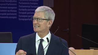 Keynote Address From Tim Cook, CEO, Apple Inc