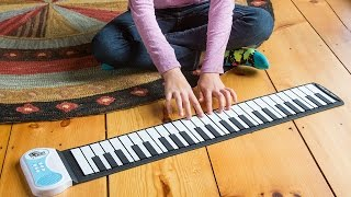Can your piano bend like this?
