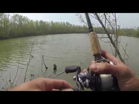 Bass Fishing at Beaver Lake 5/11/14