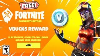 FREE Vbucks Event RIGHT NOW in Fortnite! (BE FAST)