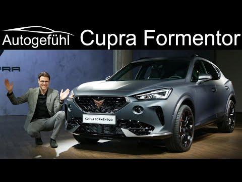 Cupra Formentor REVIEW Exterior Interior World Premiere production model new SUV  - Autogefühl