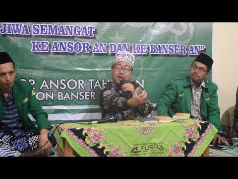 KH. Abi Jamroh Mauidhoh Hasanah PAC ANSOR Kec. Tahunan Jepara