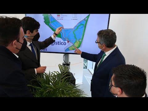 Presentación del proyecto de un parque logístico en Coín
