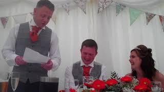 Best Man Speech DAVIES/WOOD WEDDING