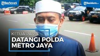 Ketum PA 212 Slamet Maarif Datangi Polda Metro Jaya, Diperiksa sebagai Saksi Aksi 1812