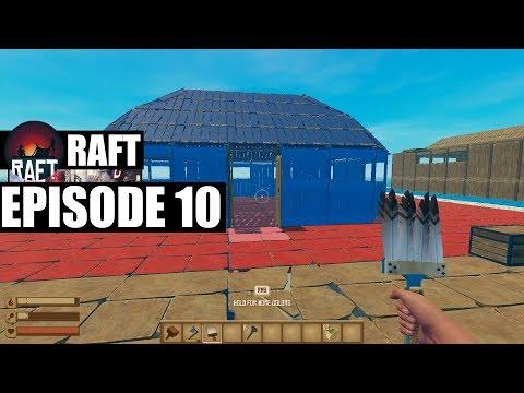 ვინ უფრო კარგ სახლს ააშენებს? RAFT #10 EP - S2