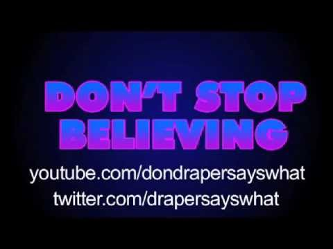 Journey: Don't Stop Believin' — With Movie Clips