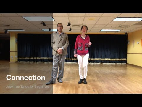 Tango is about connection - learn the fundamentals of it in this first lesson of 28 lessons Argentine Tango Beginner Course.