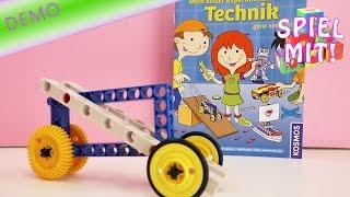 Kosmos Experimentierkasten Technik – Mein erstes eigenes Auto – Spielzeugauto bauen