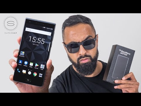 BlackBerry Motion UNBOXING