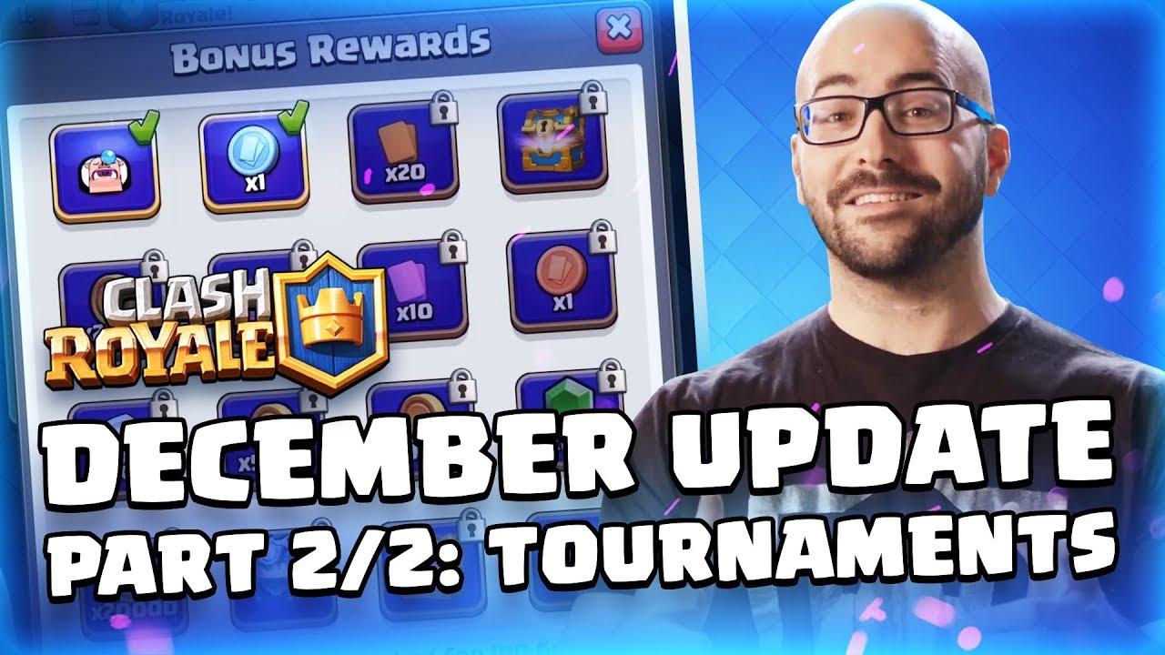 December 2018 Update #2: New Tournament System   Blog