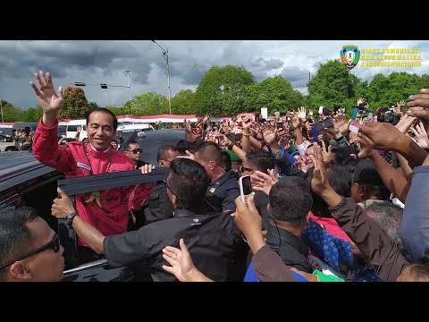 cuplikan-kedatangan-presiden-jokowi-di-malinau