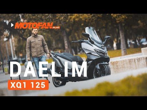 Vídeos Daelim XQ1 125 D