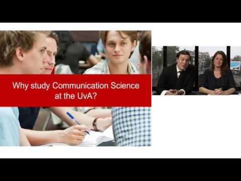 Webinar 'The Bachelor's in Communication Science'