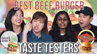Is Shake Shack the Best Burger in Singapore? | Taste Testers | EP 110