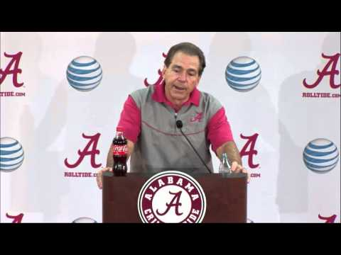 Saban Presser Wednesday - SEC Championship